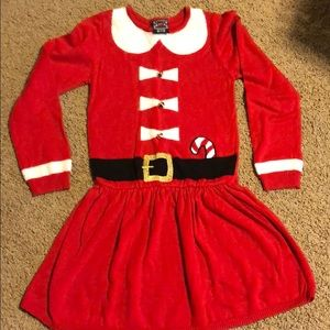 Other - Holiday Sweater Dress w/Bells girls 7/8